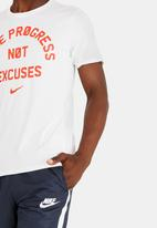 Nike - Nk Dry Tee Dfc No Excuses White