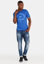 Nike - Nk Dry Tee Dfc No Excuses Blue