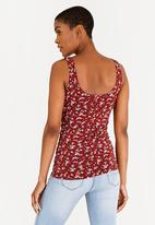 edit - Lounge Cami Burgundy