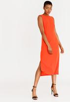 STYLE REPUBLIC - Back Tie Dress Orange