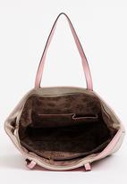 BLACKCHERRY - Colourblock Shopper Bag Cream