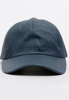 STYLE REPUBLIC - Coated Fabric 5 Panel Cap Navy