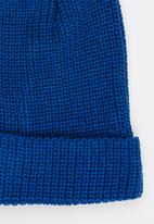 STYLE REPUBLIC - Plain Turn Up Beanie Cobalt