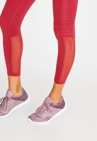 Reebok Classic - Classic Mesh Detail Leggings Burgundy