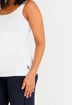 Cherry Melon - Maternity Every day tank top - White