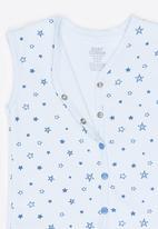 Baby Corner - Boys waistcoat - blue