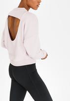 Nike - Nike Crew Neck DryTop Pale Pink
