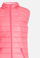 Soobe - Puffer Gilet Mid Pink
