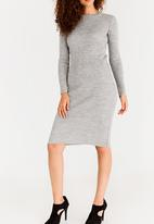 edit - Crew Neck Dress Grey