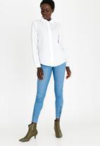 STYLE REPUBLIC - Pearl Detail Shirt White
