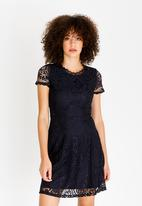 ONLY - Mystery Lace Dress Navy