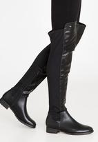 Miss Black - Krabi Knee High Boots Black