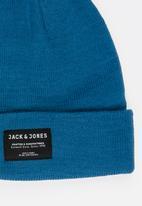 Jack & Jones - Basic beanie - blue