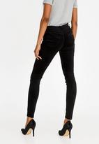 Sissy Boy - Zion Velvet Skinny Pants Black