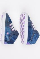 POP CANDY - Printed High Top Sneaker Blue