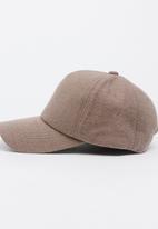 STYLE REPUBLIC - Fabric Peak Cap Brown