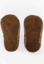 shooshoos - Boys Sea Biscuit Boots Brown