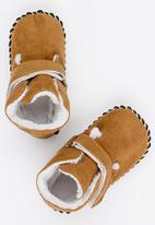 POP CANDY - Boys booties - camel