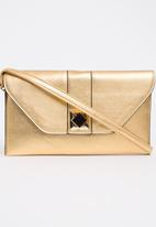 BLACKCHERRY - Shimmer Clutch Bag Gold