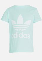 adidas Originals - Little boys trefoil tee - green
