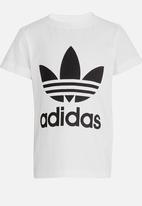 adidas Originals - Little boys trefoil tee - white