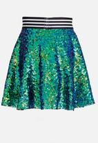 See-Saw - Sequin Skirt Multi-colour