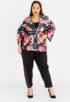 RUFF TUNG - Satin-like Jacket Black