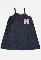 POP CANDY - Denim  Dress Navy
