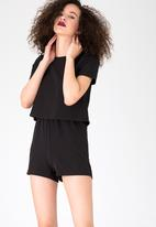 ONLY - Lucia Playsuit Black