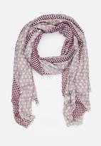 STYLE REPUBLIC - Polka Dot Scarf Multi-colour
