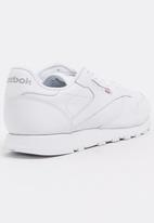 Reebok Classic - Teens classic leather sneaker - white