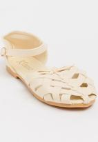 8b1c413fc388e4 Girls Cage Sandal Stone POP CANDY Shoes