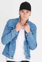 Only & Sons - Chris camp denim jacket - light blue