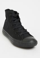 Converse - Chuck Taylor Mono  High Top Sneaker Black
