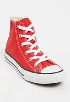 Converse - Chuck Taylor  High Top Sneaker Red