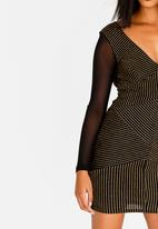 Sissy Boy - Illusions Midi Dress Black