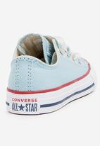 Converse - Chuck Taylor All Star big eyelet-ox-ocean bliss/driftwood/white-junior