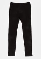POP CANDY - Cable Knit Legging Black