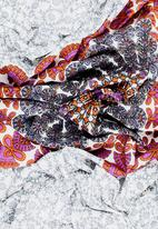 Joy Collectables - Printed Detail Scarf Multi-colour