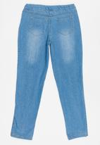 Twin Clothing - Denim Jeggings Mid Blue