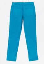 Twin Clothing - Jeggings Turquoise