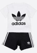 adidas Originals - Kids short tee set - black & white