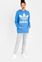 adidas Originals - BF trefoil hoodie - blue