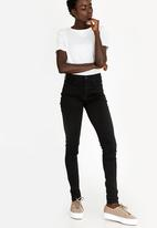 Levi's® - 720 High Rise Super Skinny Jeans Black