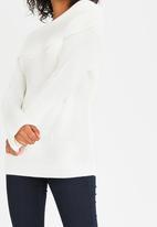 Tokyo Laundry - Bardot Jumper Off White