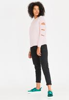 Tokyo Laundry - Cut-out Detail Jumper Rose