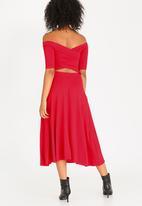 STYLE REPUBLIC - Cross Back Dress Red