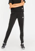 adidas - Designed to Move Cuffed Track Pants Black and White