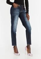 STYLE REPUBLIC - Low rise straight cut jeans - blue