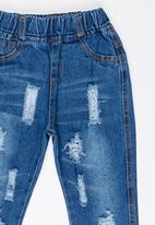 POP CANDY - Girls Slim Leg Jeans Pale Blue